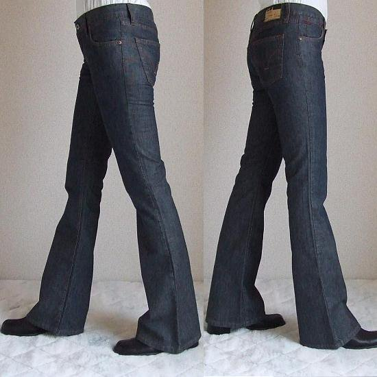 CASUCCI Boot Cut Denim ブルー 26(股下86cm)