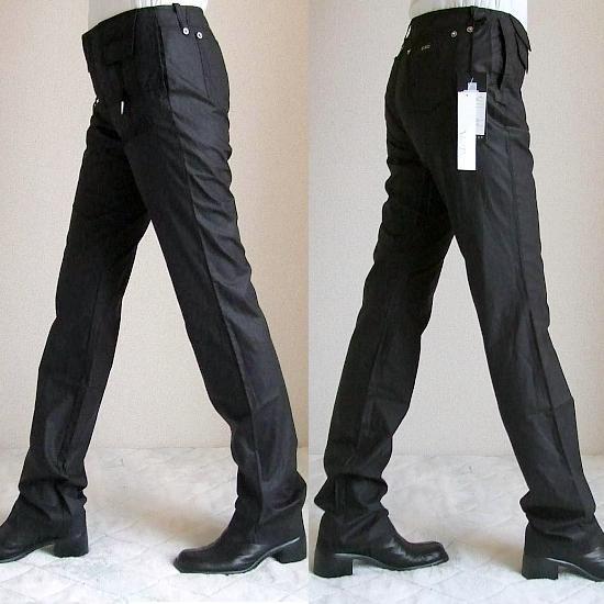 C'N'C CoSTUME NATIONAL 綿パンツ黒(股下90cm) 送料込