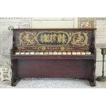 アンティーク トイピアノ シェーンハット 16鍵 1900年代 木目