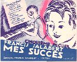 アンティーク楽譜 《わたしのヒット曲集 第5巻》 1929年 ピアノ