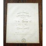 ツェルニー 《ロッシーニのオペラ「泥棒かささぎ」の主題からの2つの華麗なロンド》 ca.1850年
