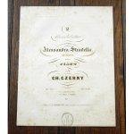 ツェルニー 《フロトーの歌劇 「アレッサンドロ・ストラデッラ」 からロンドレット op.770》 ca.1850年