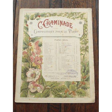 シャミナード,セシル 《秋のセレナード op.55 no.4》 『6つのロマンティックな小品』より