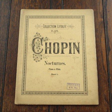 ショパン 《ノクターン 第1巻》 フルート&ピアノ 20世紀初頭