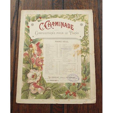 シャミナード,セシル 《La Chaise a Porteurs op.55 no.2》 『6つのロマンティックな小品』より