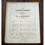 モーツァルト 『きらきら星変奏曲』 ca.1853年