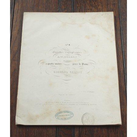 モーツァルト 交響曲第40番 ト短調 K.550 ca.1853年