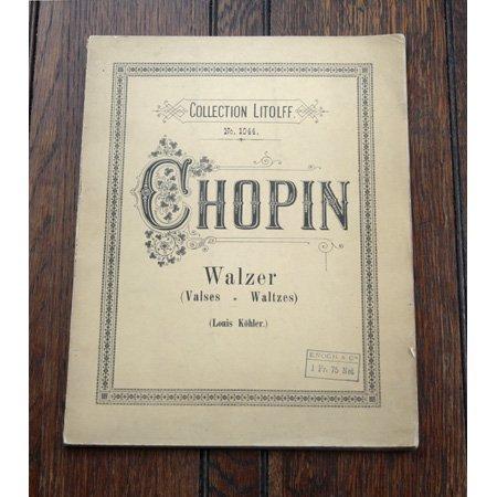ショパン 《ワルツ集》 20世紀初頭