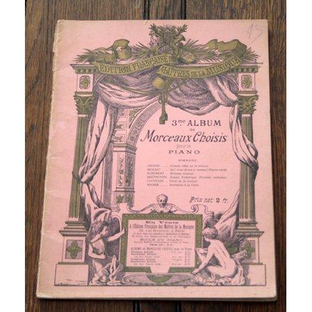 《ピアノのためのアルバム》 c.a.1900年