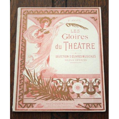 《アルバム 劇場の栄光》 1905年