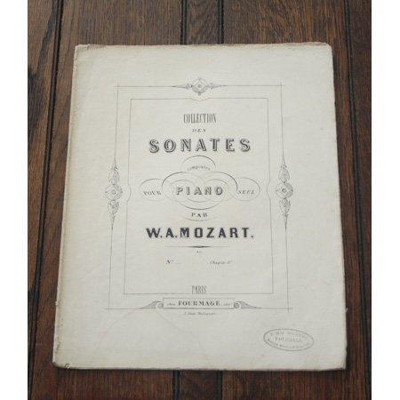 モーツァルト ピアノソナタ第10番 K.330 ca.1850年