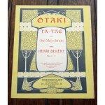 アンティーク楽譜:『OTAKI』