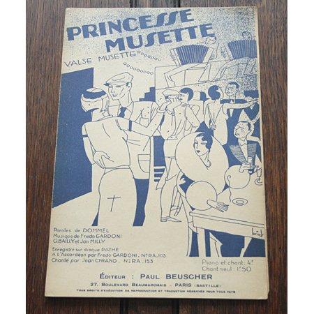 《プリンセス・ミュゼット》 フレッド・ガルドーニ
