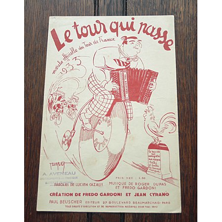 《Le Tour qui Passe》 ツール・ド・フランス公式曲