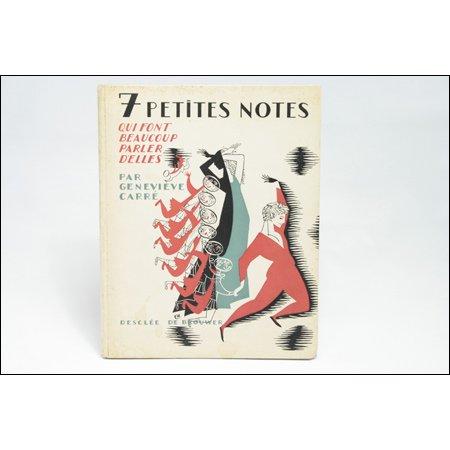 『おしゃべりな7つの小さな音符たち』 E.モレル