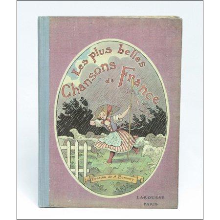 楽譜絵本《美しいフランスの民謡》