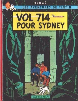 古絵本 Tintin:Vol 714 pour Sydeny