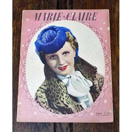 雑誌 marie claire マリ クレール 1940年150号
