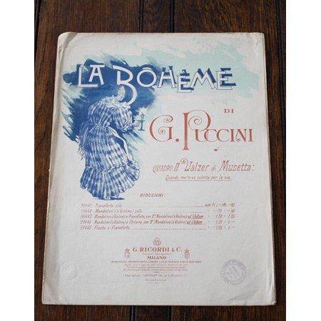 プッチーニ 《ムゼッタのワルツ~私が街をあるけば~》 歌劇『ラ ボエーム』