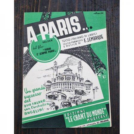 ア パリ A Paris シャンソン