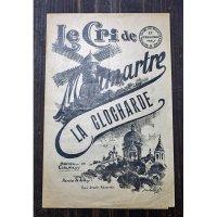 La Clocharde 宿なし浮浪者 シャンソン楽譜