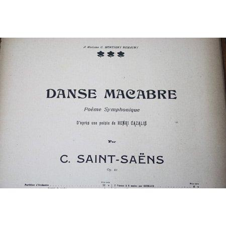 サン=サーンス 交響詩《死の舞踏》 1900年頃