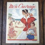 手芸雑誌 《Mon Ouvrage N°22》 1950年7月号