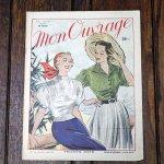 手芸雑誌 《Mon Ouvrage N°44》 1952年5月号