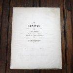 ベートーヴェン ピアノソナタ第7番 ニ長調 作品10-3 ca.1850年