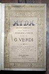 ヴェルディ 歌劇『アイーダ』 ヴォーカルスコア 1876~80年頃