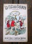 アンティーク楽譜 La Cle des Champs 1880~90's