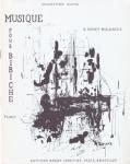 ブルノワ 練習曲集《ビビシュのための音楽 第1巻》 アンティーク楽譜