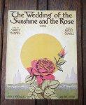 アンティーク楽譜 「サンシャインとバラの結婚式」 1915年