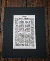 インキュナブラ 「エフェソ信徒への手紙」 『ラテン語聖書』第2-3章 一葉 1478年