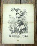アンティーク楽譜 シャンパン万歳! 19世紀後半