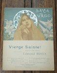 アンティーク楽譜 聖なるマリアさま 1894年 Vn.,Ch.& Pf.