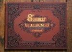 シューベルト アルバム 4手のための 1870年頃 アンティーク楽譜