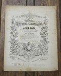 バッハ,J.S. サラバンド - パスピエ 『イギリス組曲第5番』より 1854年