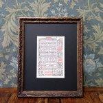 時祷書 木版印刷 1519年 ドイツ 一葉 B