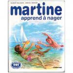 古絵本 『マルティーヌ、はじめての水泳』