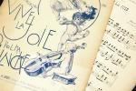 アンティーク楽譜 『大喜び』