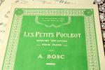 アンティーク楽譜 『街の子どもたち』 ピアノピース