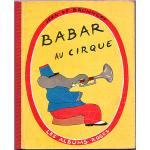 ヴィンテージ絵本 『ぞうのババール サーカスへ』 1952年