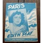 ピアフ,エディット 《パリ》