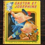 ヴィンテージ絵本 『ガストンとジョセフィーヌ』 1950年