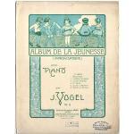 アンティーク楽譜 『若者のアルバム』 インプロビゼーション