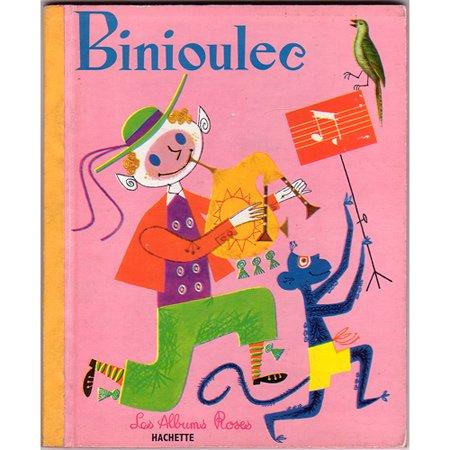 ヴィンテージ絵本 『ビニウレック』 1962年