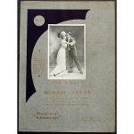 アンティーク楽譜 『モリスとレオナ - ワルツ』 ピアノピース
