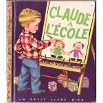 ヴィンテージ絵本 『クロード、小学校へ』 1952年