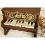 アンティーク トイピアノ シェーンハット 10鍵 1900年代 木目